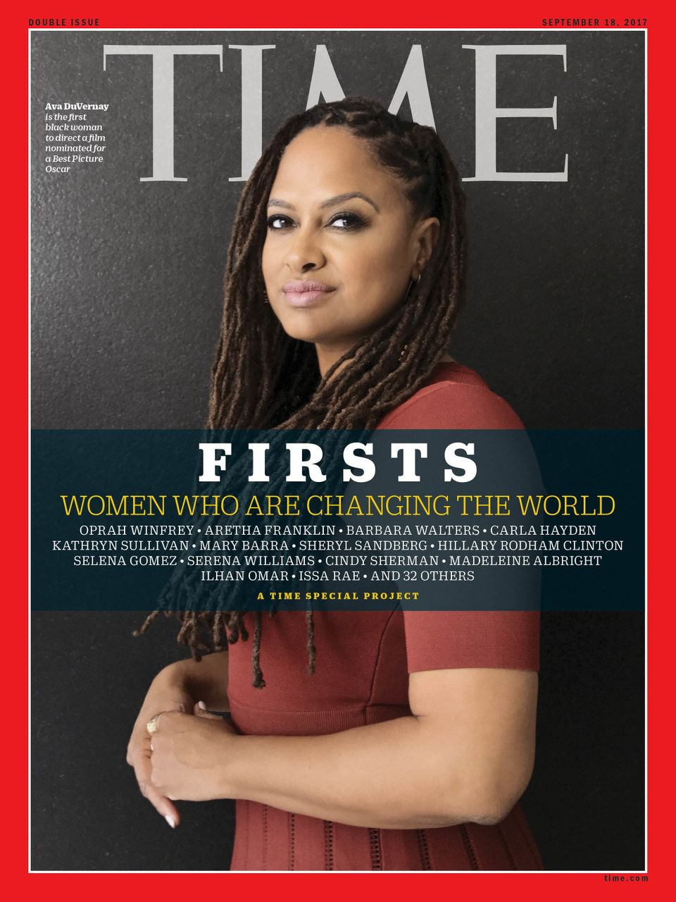 DuVernay is the first black woman to direct a film nominated for an Academy Award for Best Picture.