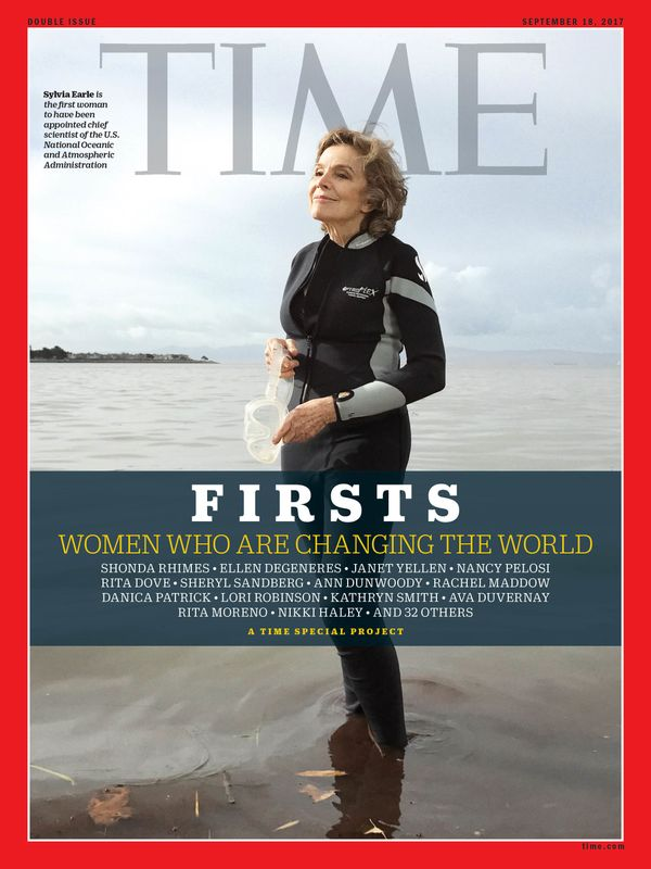 Earle is the first female chief scientist of the National Oceanic and Atmospheric Administration.