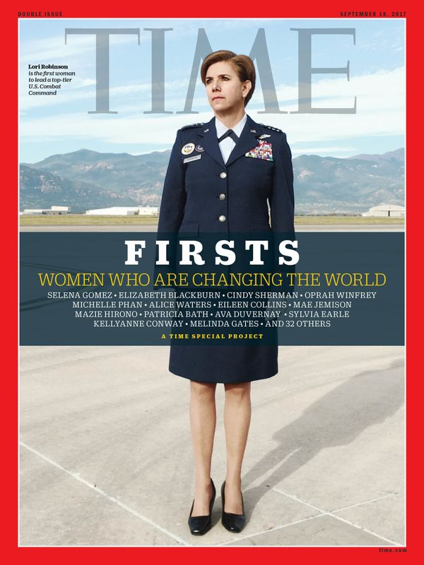 Robinson is the first woman to lead a top-tier U.S. Combat Command.