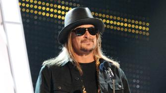 NASHVILLE, TN - JUNE 07:  Kid Rock presents an award onstage at the 2017 CMT Music Awards at the Music City Center on June 7, 2017 in Nashville, Tennessee.  (Photo by Kevin Mazur/WireImage)