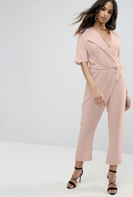 "We had rompers and playsuits in the summer, now cue the jumpsuits and boilersuits for fall. <br><br>Pictured: <a href=""h"