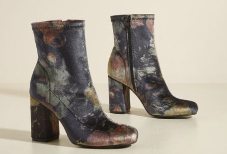 Image result for couch florals boots fall 2017