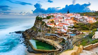 Azenhas do Mar, Portugal coastal town.