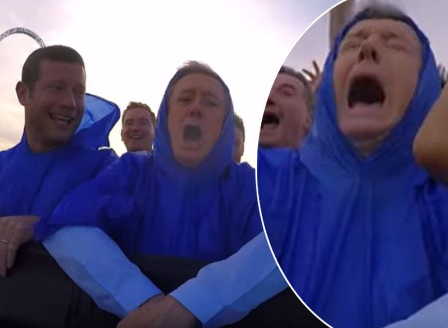 This Footage Of Louis Walsh On A Log Flume Is The Only Video You Need In Your Life Right
