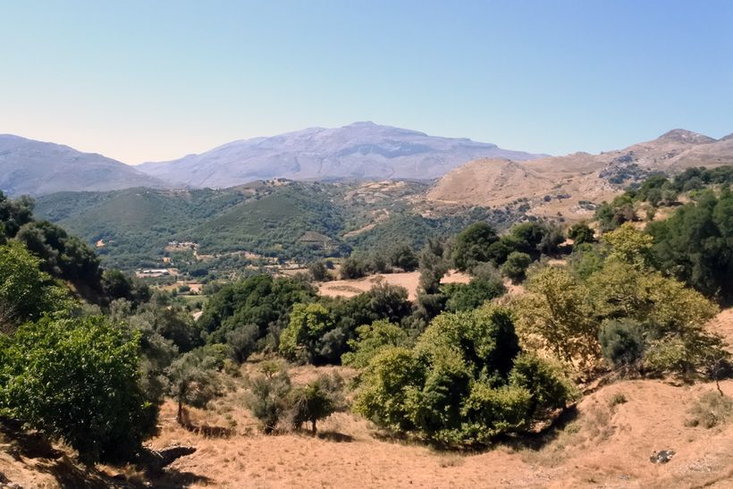Crete's hidden gem, Amari Valley, at the foothills of  Mount Ida and  <u>Kedros.</u>