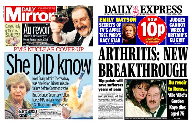 Trinity Mirror In Talks To Buy Express Newspapers - But It