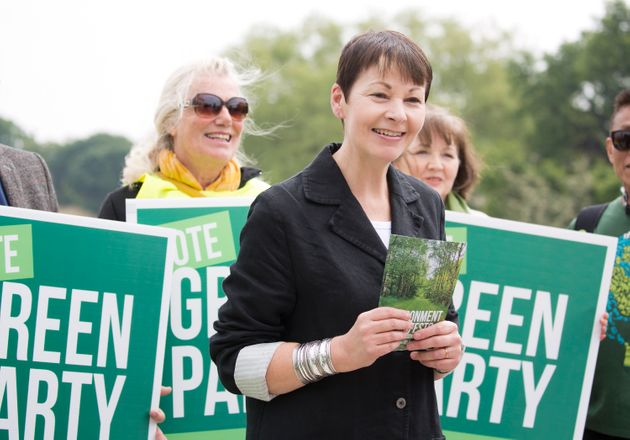 Caroline Lucas raised the issue of climate change in the Commons during a statement on Hurricane
