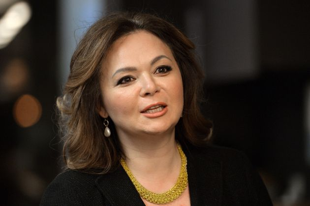 The Russian lawyer at the centre of the controversy, Natalia Veselnitskaya, speaking during an interview...