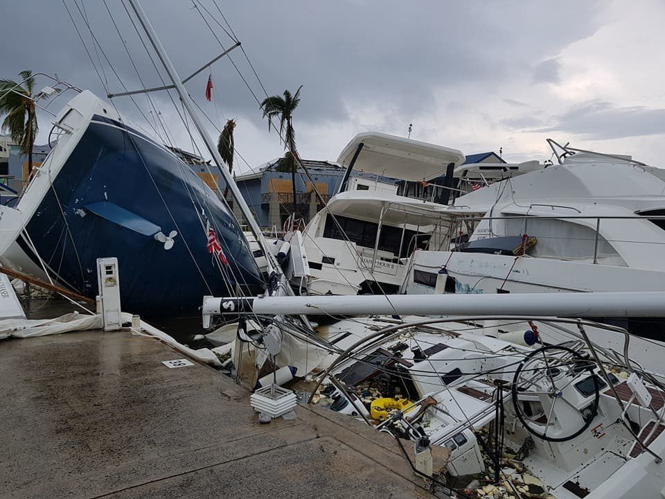 Hurricane Irma's Destruction Of British Virgin Islands Revealed In Devastating