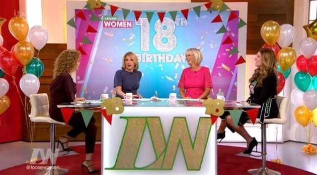 The 'Loose Women' celebrated their 18th birthday on
