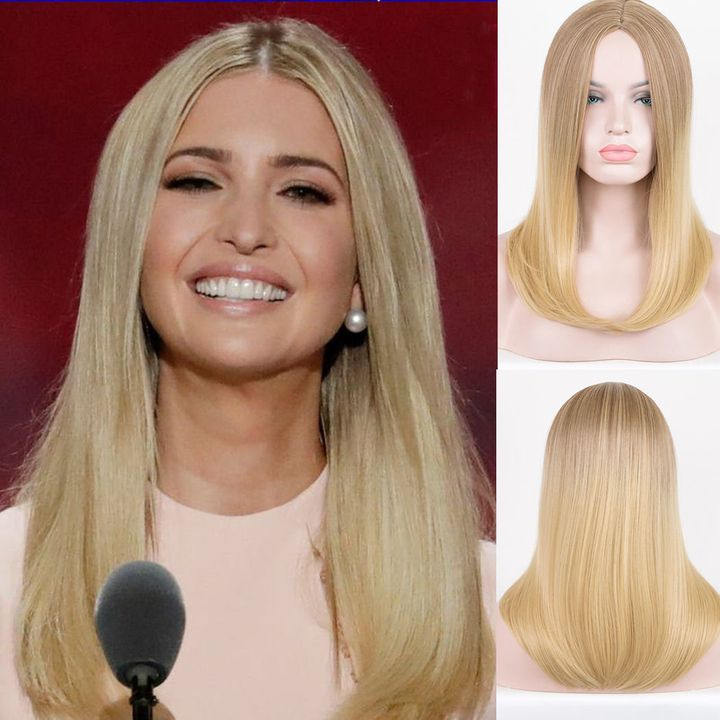 These Ivanka Trump Halloween Wigs Are Just Too Good  490857736
