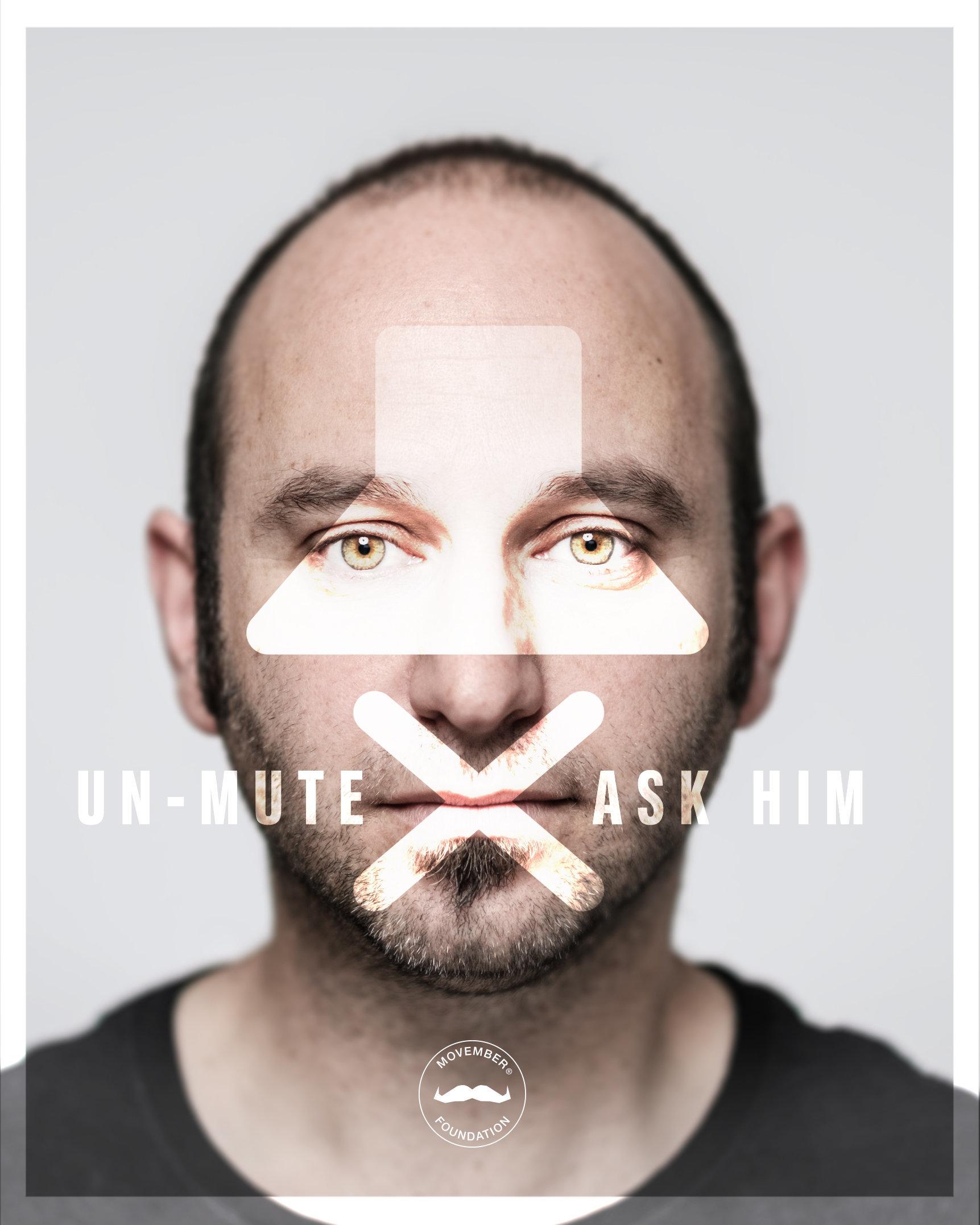 Suicide Prevention Campaign Encourages Public To 'Unmute' Conversations About Men's Mental