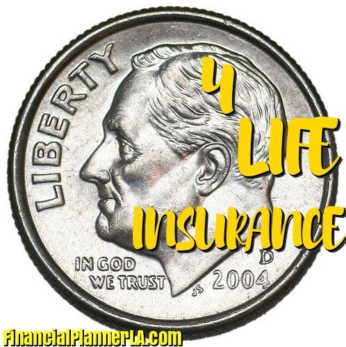 How much life insurance do you need? A DIME WORTH