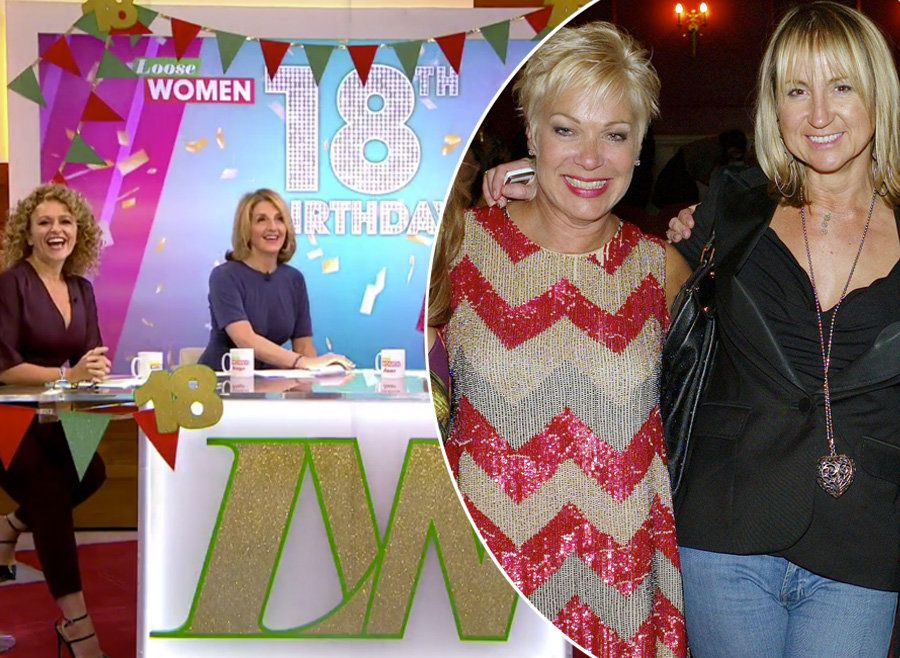 Denise Welch And Carol McGiffin Shocked After 'Personal' Decision To Erase Them From Loose Women's 18th