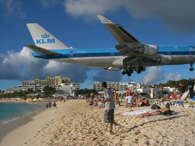 Hurricane Irma: Famous St Maarten Airport Pounded By