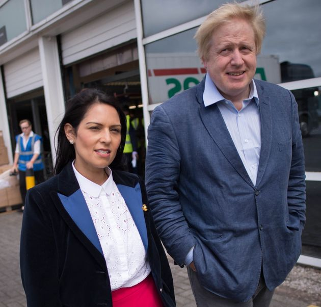 Priti Patel and Boris Johnson have been asked to explain gaps in the UK aid