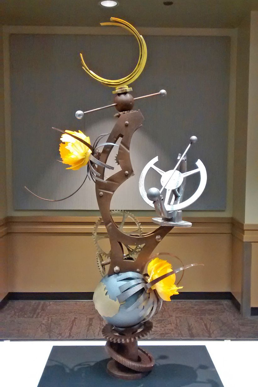 Robert Nieto's chocolate showpiece