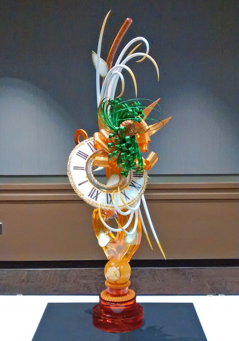 Jordan Snider's sugar showpiece