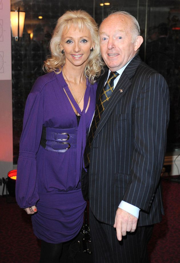 Debbie McGee with late husband Paul