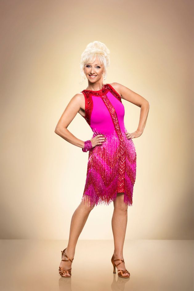 Debbie is one of this year's 'Strictly'