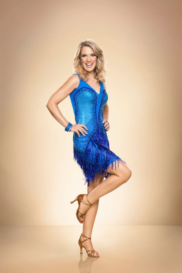 Charlotte has been getting advice from some of her 'GMB' co-stars who've done 'Strictly'