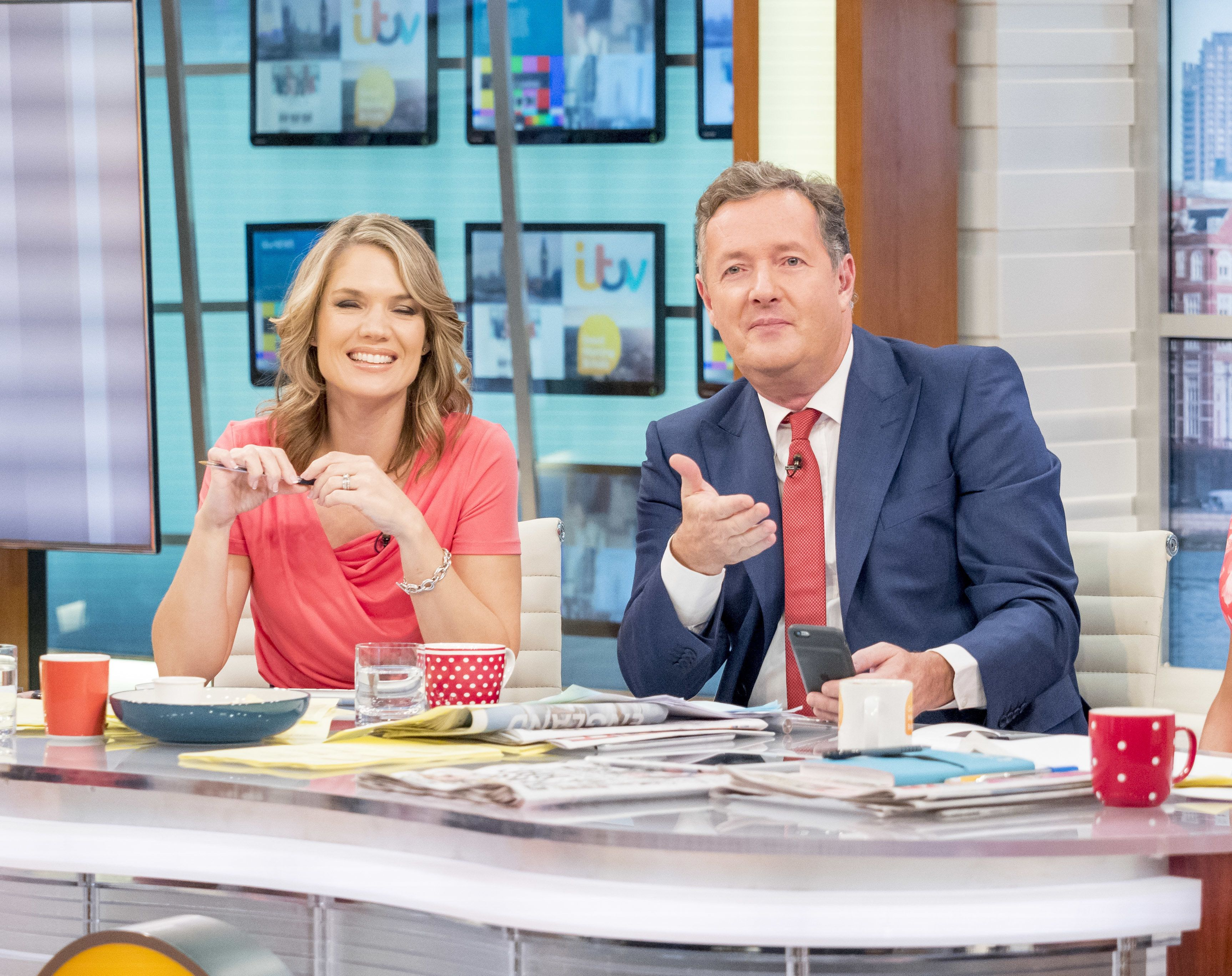 Piers Morgan Had A Typical Response To Charlotte Hawkins's 'Strictly Come Dancing' News