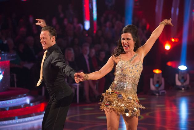 Susanna Reid took part on 'Strictly' in