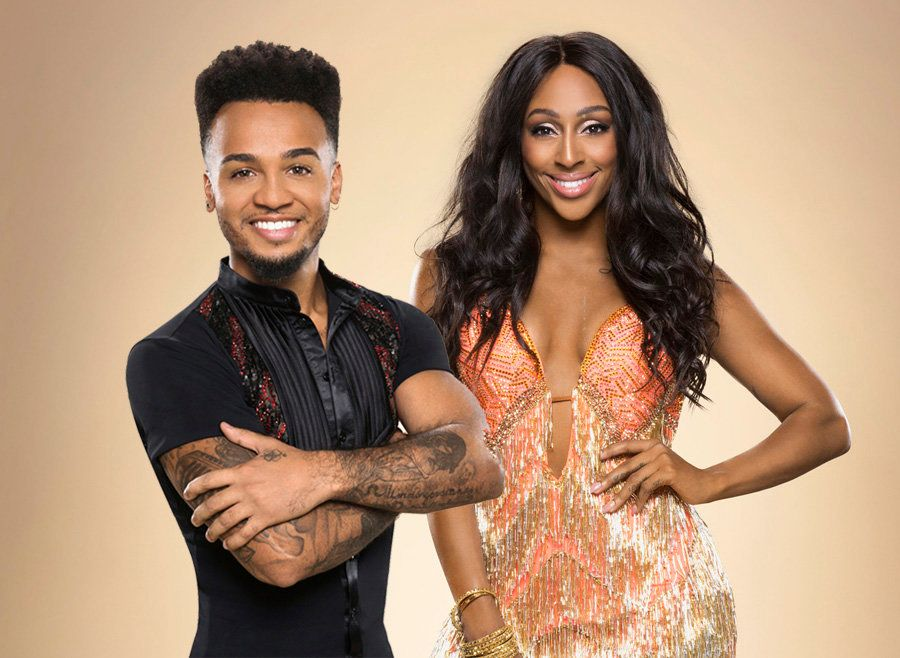 Aston Merrygold and Alexandra Burke are both contestants on this year's