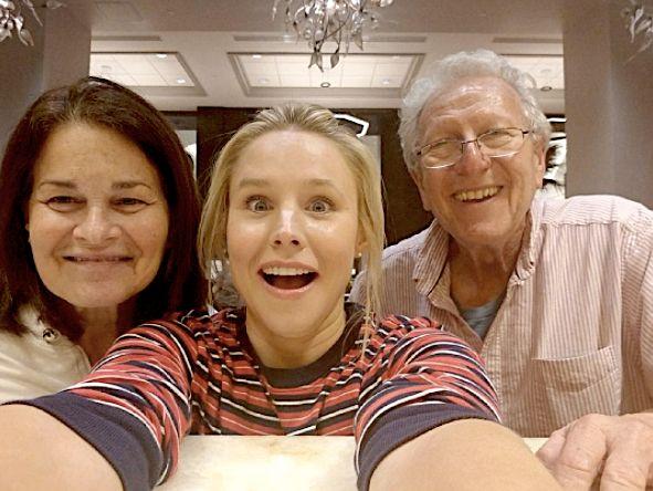 Kristen Bell Heroically Saved Josh Gad's Parents From Hurricane