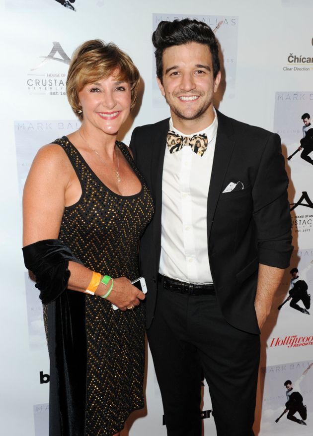 Shirley with her son
