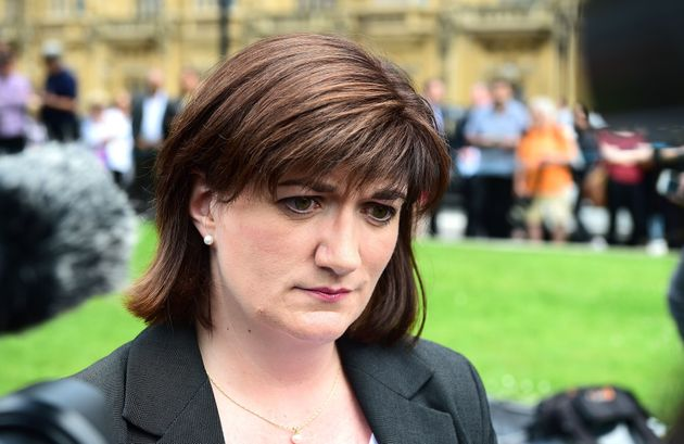 Ex-minister Nicky Morgan has questioned the so-called 'staircase