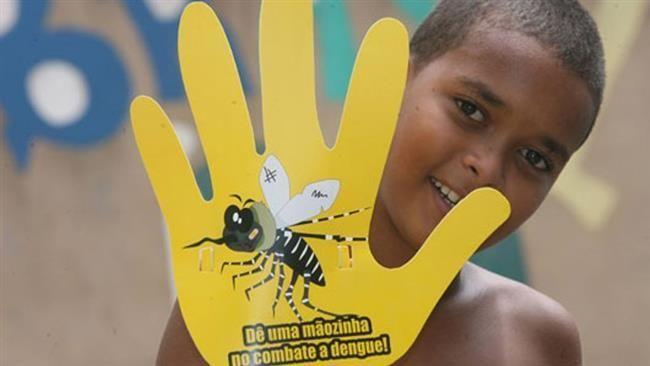 Preventive campaign against dengue fever in Brazil.