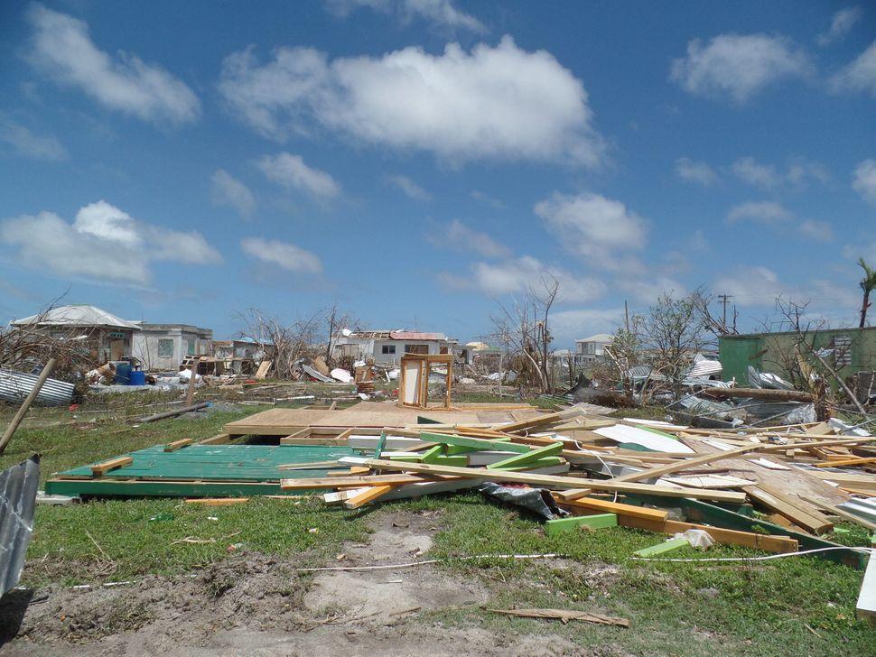 Codrington, Antigua and Barbudaafter Hurricane Irma