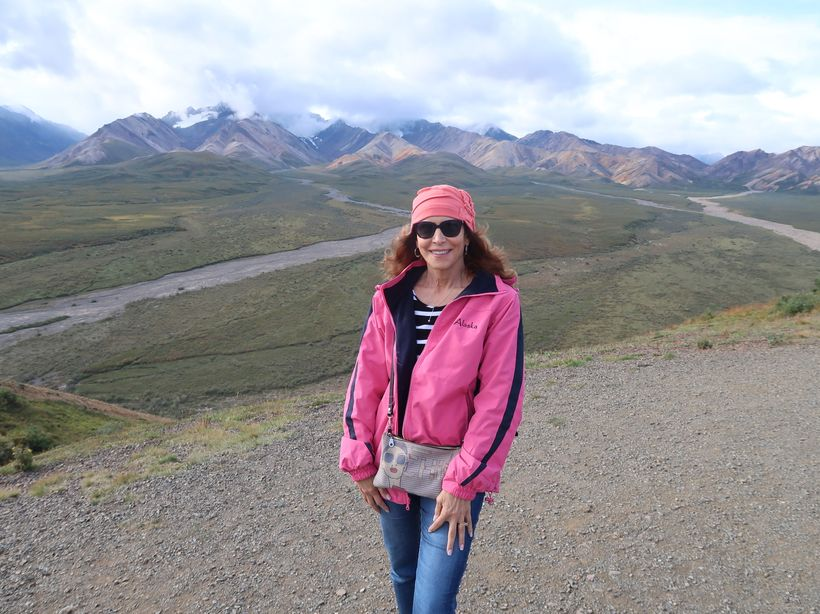 Magnificent Polychrome Pass in Denali National Park