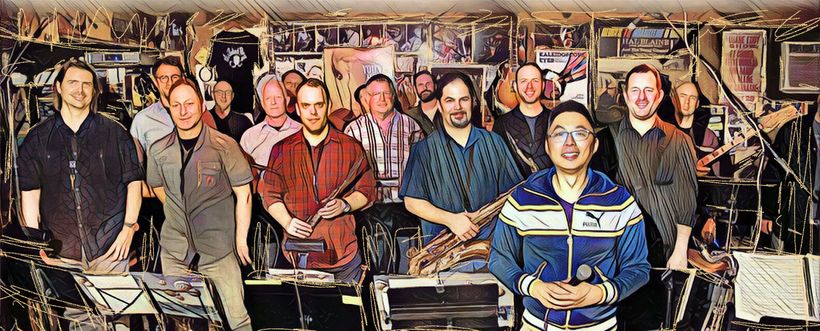 Alan Chan Jazz Orchestra at the Baked Potato.