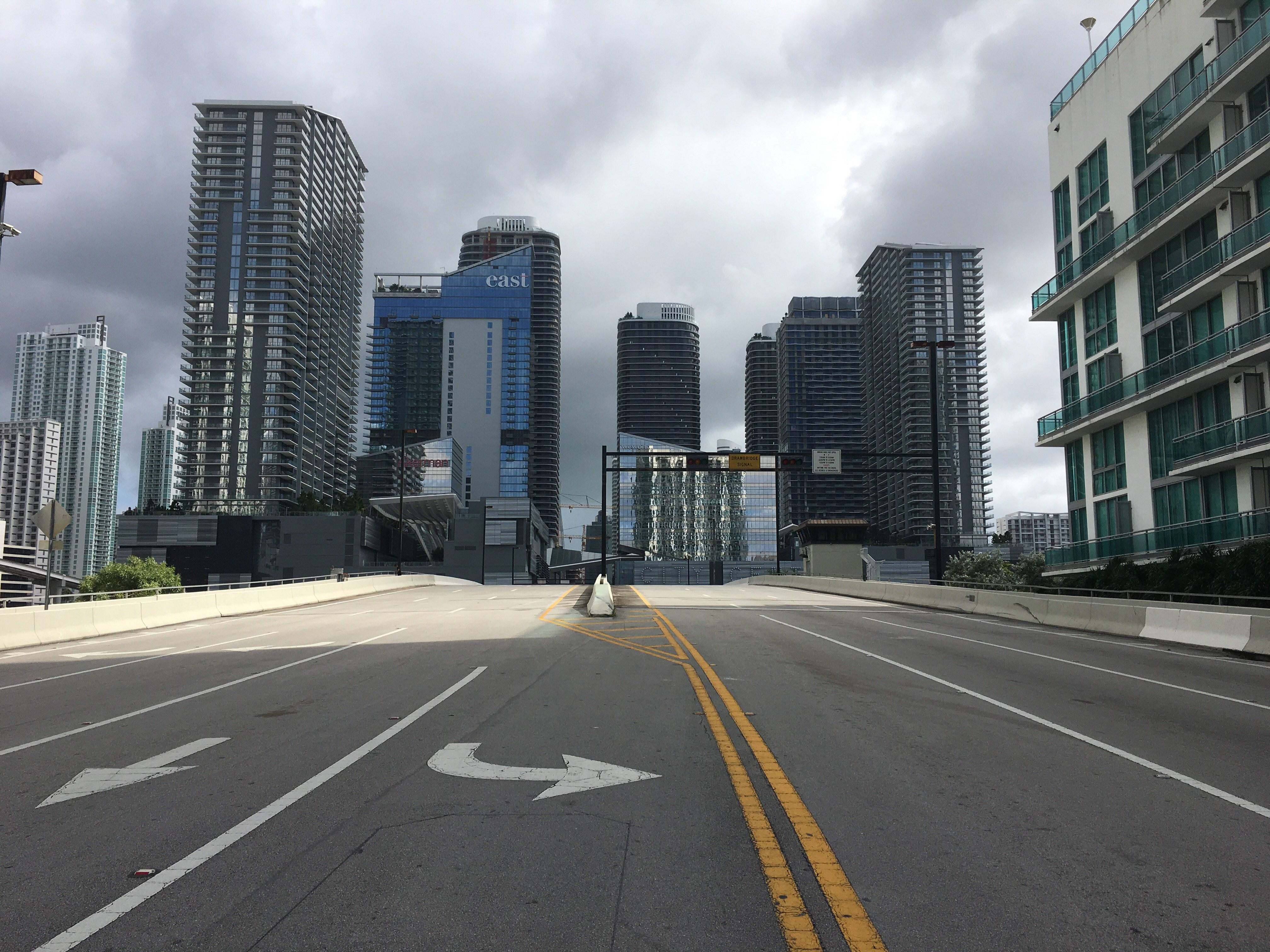 Miami has become a ghost town just one day before Hurricane Irma is set to