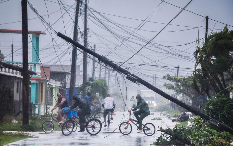 Local residents at Villa Clara province, Cuba.