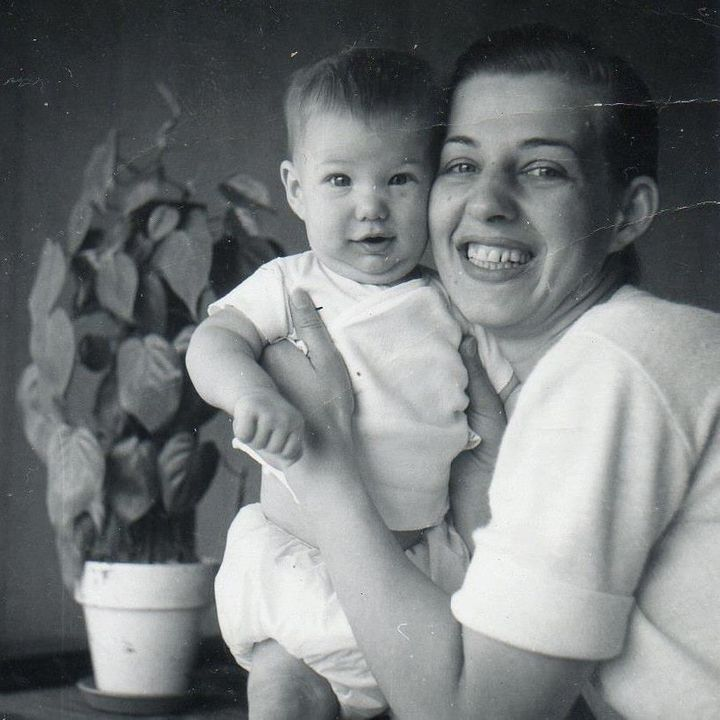 Me with my Mom at age 4 months