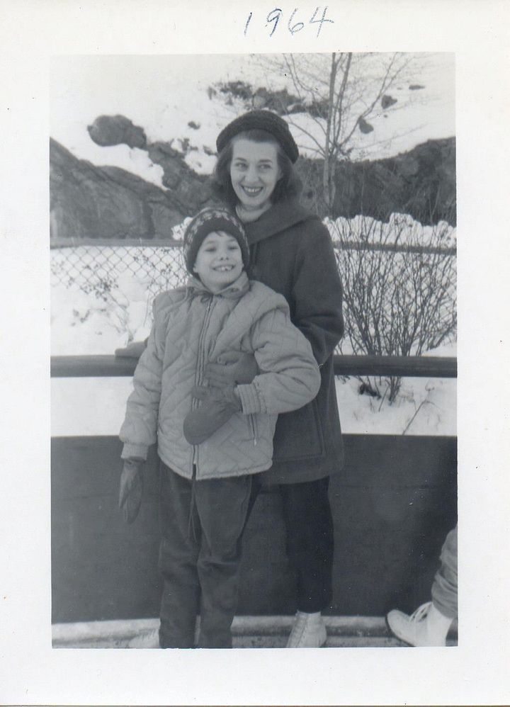 Me with my Mom shortly before we moved to Cleveland