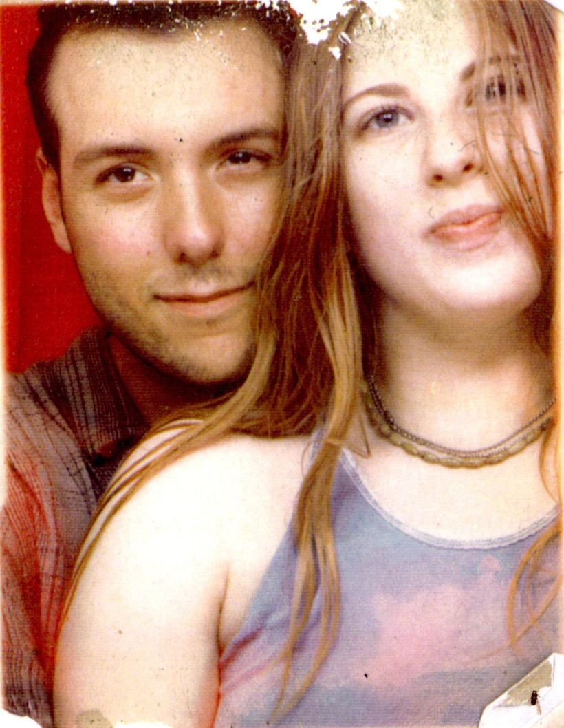 Carrie and I in 1999