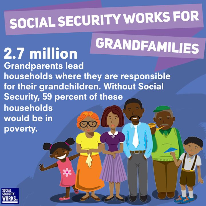 Social Security Is Vital For Grandparents – And Grandkids