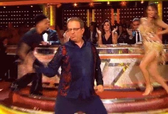 Reverend Richard Coles Has Already Cemented Himself As The New Ed Balls On 'Strictly Come