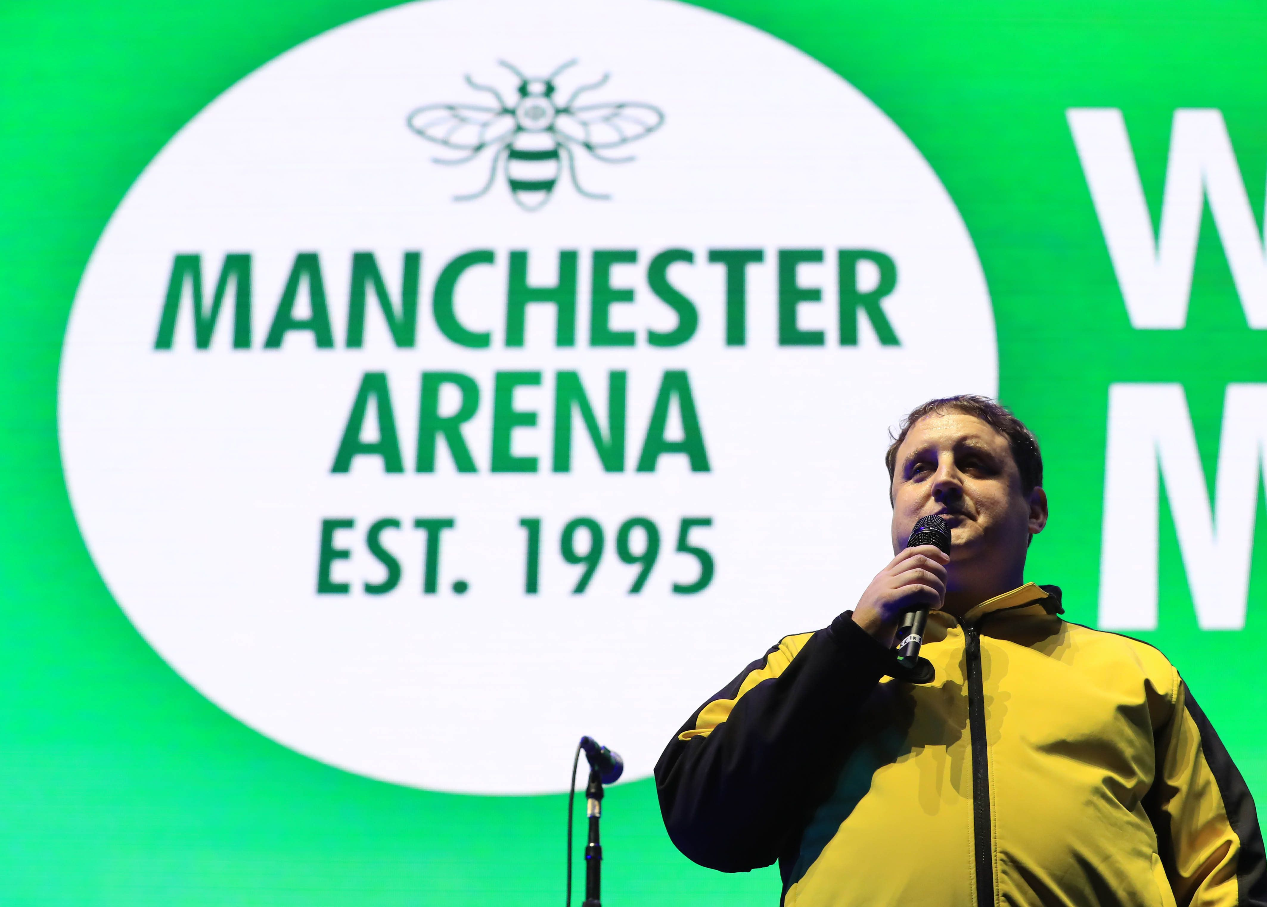 Peter Kay during the We Are Manchester benefit