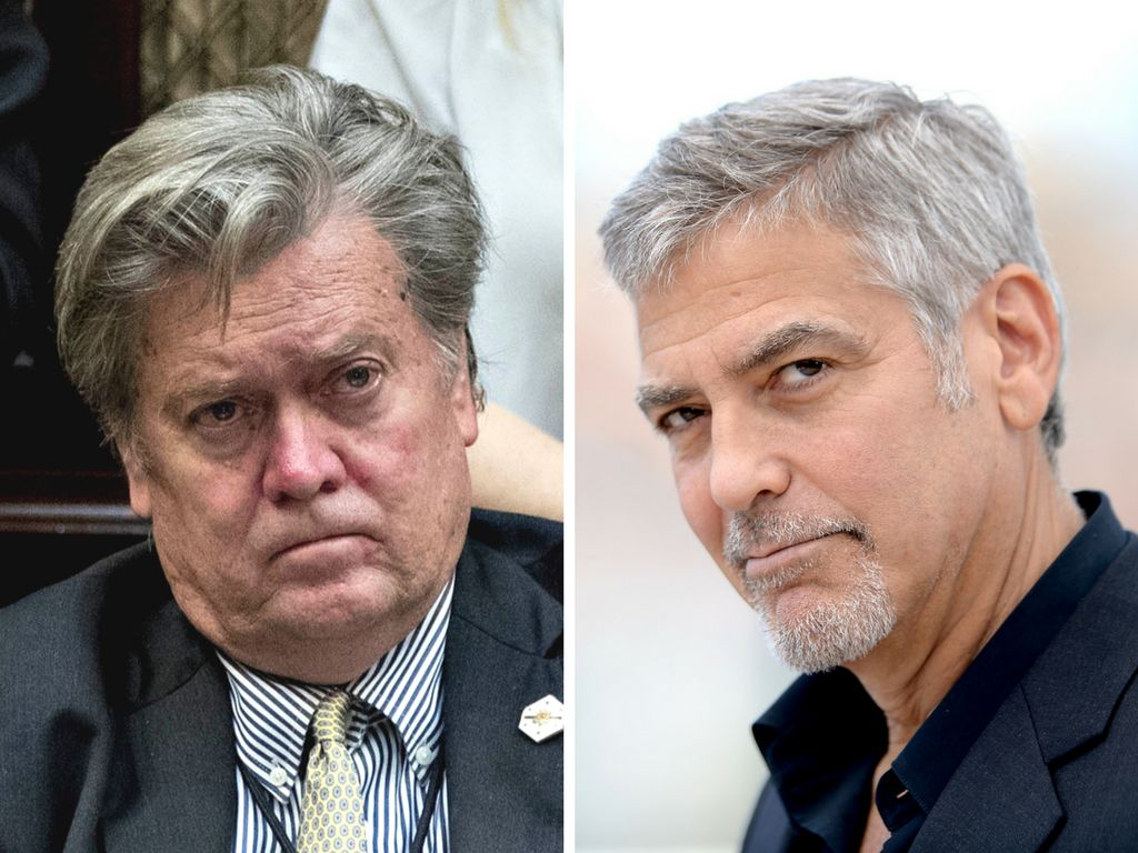 Steven Bannon a 'Failed F***ing Screenwriter — George Clooney