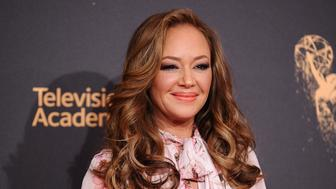 LOS ANGELES, CA - SEPTEMBER 09:  Actress Leah Remini attends the 2017 Creative Arts Emmy Awards at Microsoft Theater on September 9, 2017 in Los Angeles, California.  (Photo by Jason LaVeris/FilmMagic)