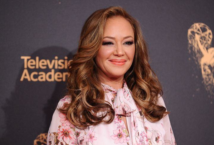 Leah Remini attends the 2017 Creative Arts Emmy Awards at Microsoft Theater on Sept. 9, 2017, in Los Angeles.