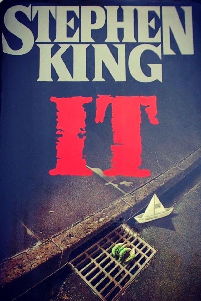 Original 1986 hardcover jacket for Stephen King's It (Viking Books at Penguin Random House)