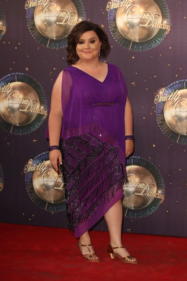Susan Calman at this year's 'Strictly' red carpet