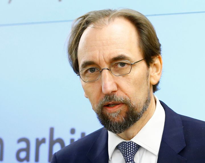 Zeid Ra'ad Al Hussein, U.N. High Commissioner for Human Rights, took the government in Myanmar to task for its treatment of M