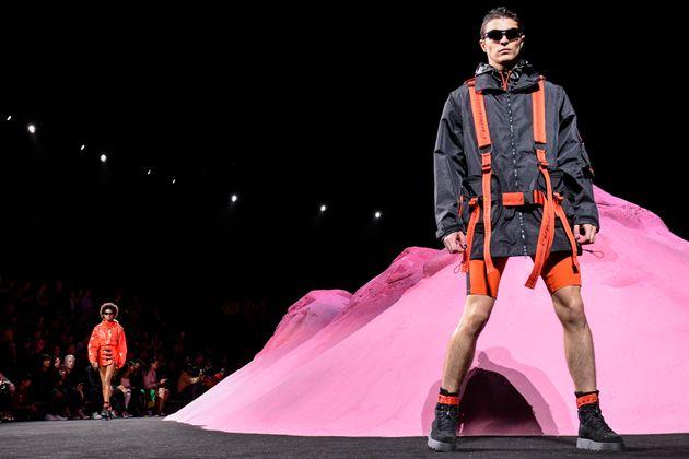 Fenty X Puma Wipes The Floor At New York Fashion Week: Luxury Sportswear With A Throwback